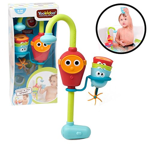 Baby Bath Toy - Flow N Fill Spout Shower Head