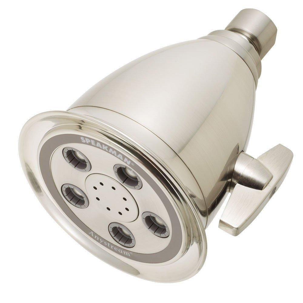 Speakman S-2005-HB-BN Hotel Anystream High Pressure Adjustable Shower Head