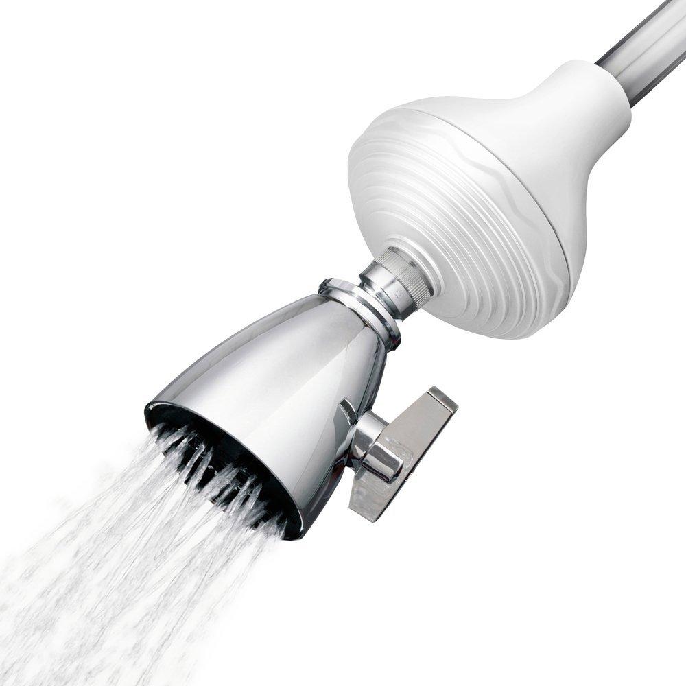 Cedar & Citrus CC22000002 Inline SPA Showerhead Filter & Water Softener