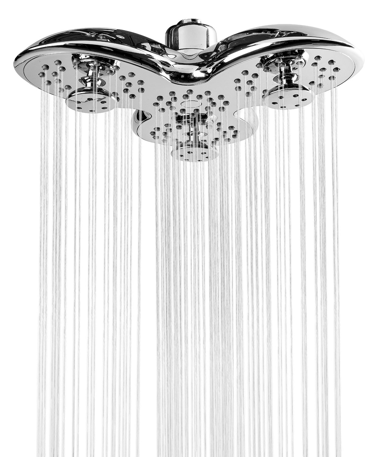 A-Flow™ Luxury Large 8 Showerhead with 3 Powerful Multi-Directional Massaging Water Jets