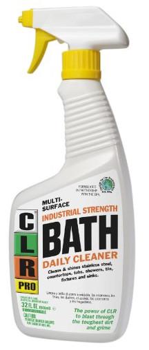 CLR PB-BATH-32PRO Multi Purpose Daily Bath Cleaner
