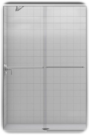 Kohler Fluence Frameless Bypass Shower Door