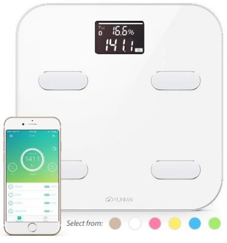 Yunmai Bluetooth 4.0 Smart Scale & Body Fat Monitor