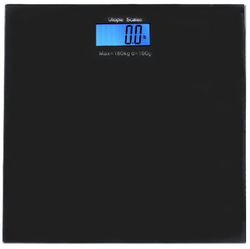 Digital Glass Bathroom Scale from Utopia Scales