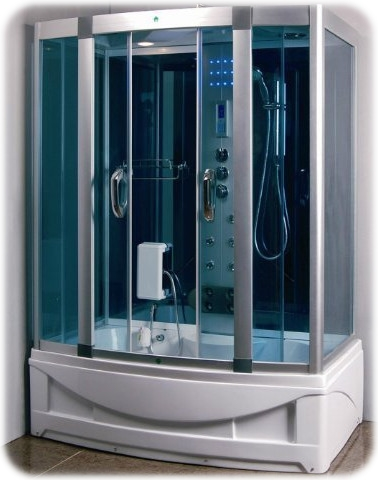 Steam Shower Room with Whirlpool Tub from Constar