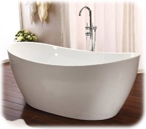 Stand Alone Soaking Tub from SDS California