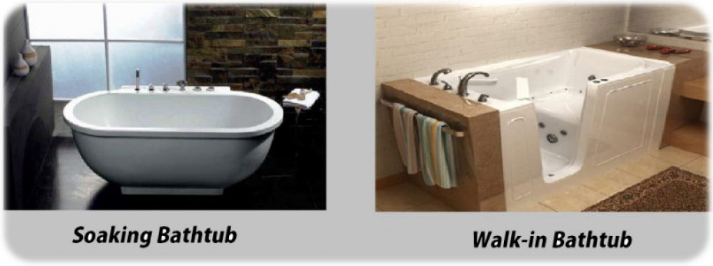 Great different types of bathtubs contemporary bathtub for Different types of tubs
