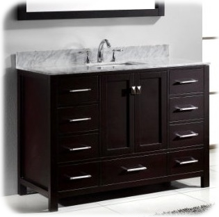 Caroline Vanity from Virtu USA