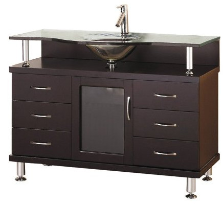 Vincente Bathroom Vanity from Virtu USA