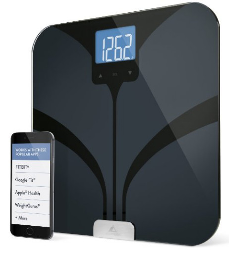Weight Gurus Bluetooth Smart Connected Body Fat Scale
