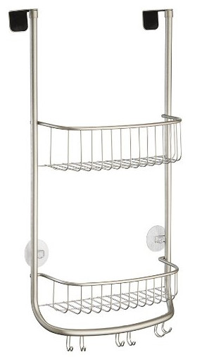 InterDesign Forma Bathroom Over Door Shower Caddy