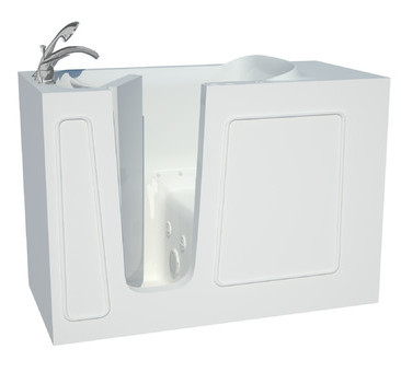 Santa Fe 53 x 26 Whirlpool Jetted Bathtub from Therapeutic Tubs