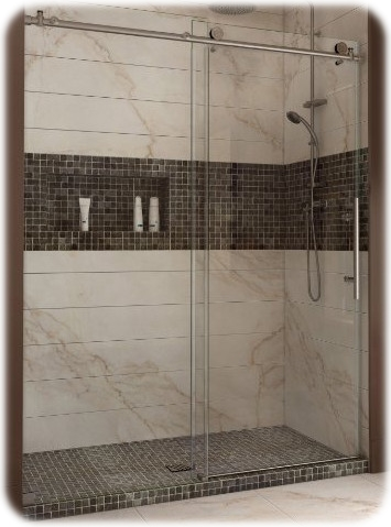 Enigma-X Fully Frameless Shower Door