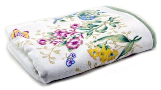 Lenox Butterfly Meadow Printed Bath Towel