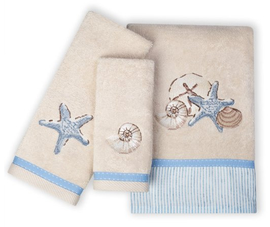 Zenna Home Seaside Serenity Bath Towel