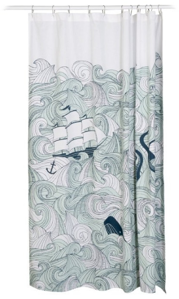 Danica Studio Cotton Shower Curtain