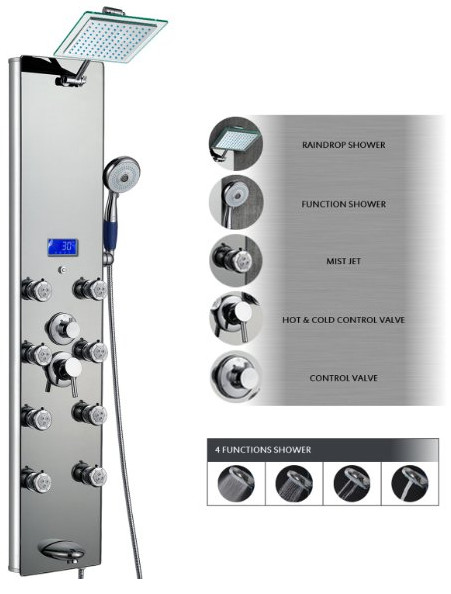 AK-787392M Shower Panel from AKDY