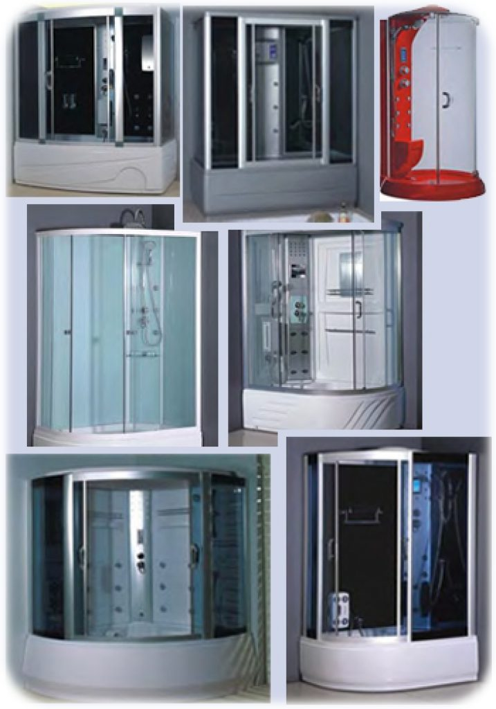 types of steam showers corner units - Steam Shower Units