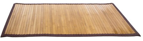 Natural Bamboo Step Mat from Ginsey