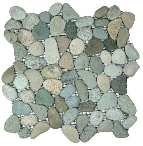 Sea Green Pebble Tile from CNK Tile