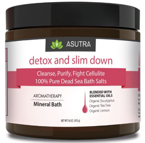 Detox & Slim Down Dead Sea Bath Salts from ASUTRA