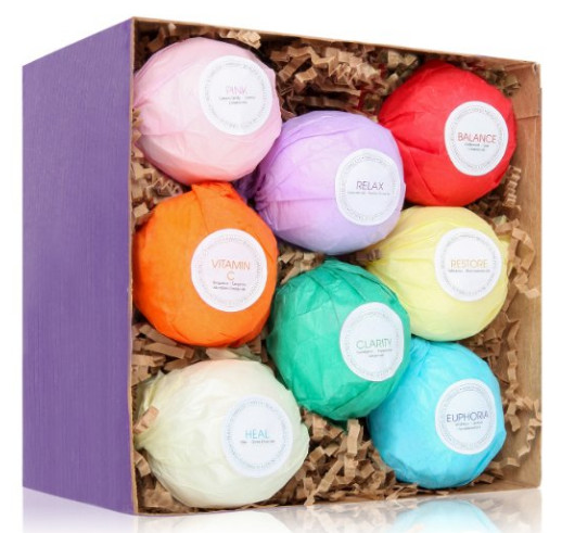 Bath Bombs Gift Set from HanZa