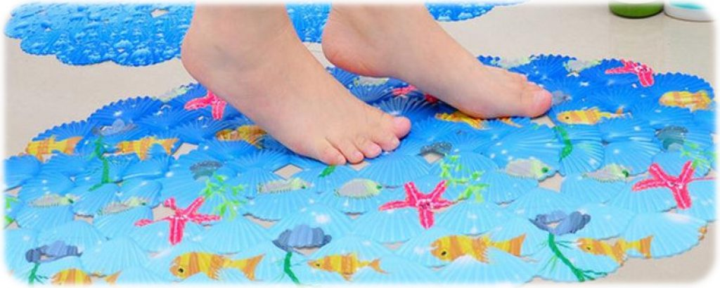 transparent non mats bacterial long bath mat shower dp anti washable slip koepuo bathtub extra
