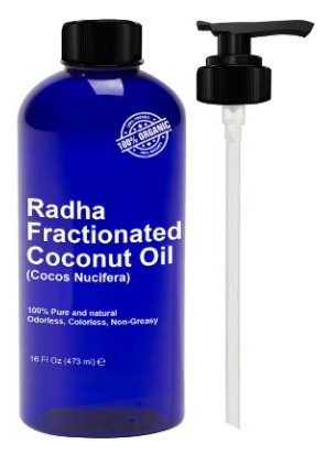 Fractionated Coconut Oil from Radha Beauty
