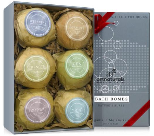 Bath Bombs Gift Set from Art Naturalis