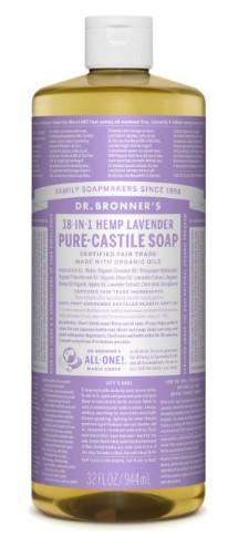 Fair Trade & Organic Castile Liquid Soap from Dr. Bronners