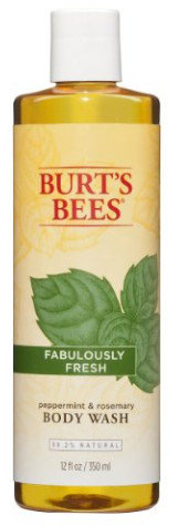 Peppermint and Rosemary Body Wash from Burt's Bees