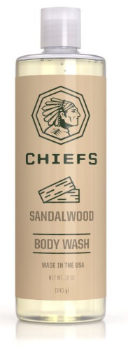 Sandalwood Mens Body Washfrom CHIEFS