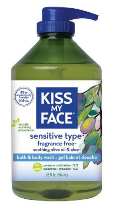 Natural Shower Gel and Body Wash from Kiss My Face