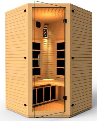 Corner Far Infrared Sauna from JNH Lifestyles
