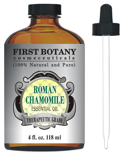 Roman Chamomile Essential Oil from First Botany Cosmeceuticals