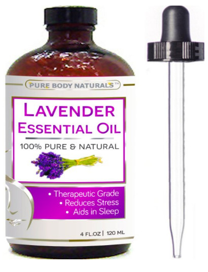 Lavender Essential Oil from Pure Body Naturals