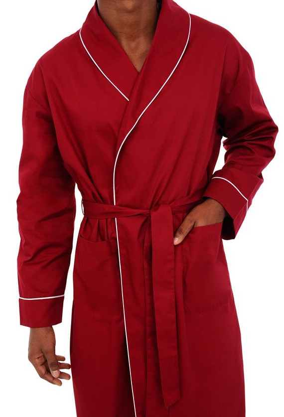 Mens Cotton Robe from Alexander Del Rossa