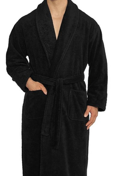 Terry Bathrobe from Turkishtowels