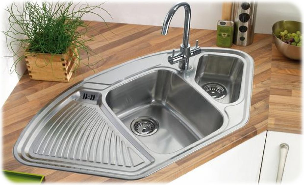 Undermount Corner Kitchen Sinks