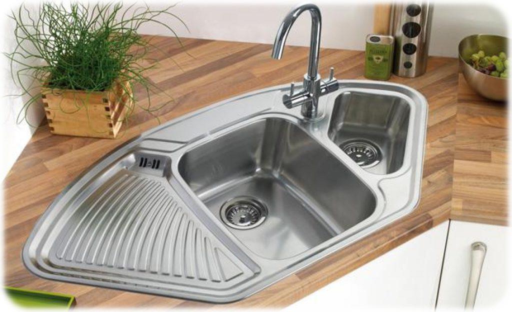 Undermount-Corner-Kitchen-Sinks