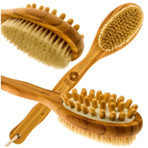 Bamboo Body Brush from Bath Blossom