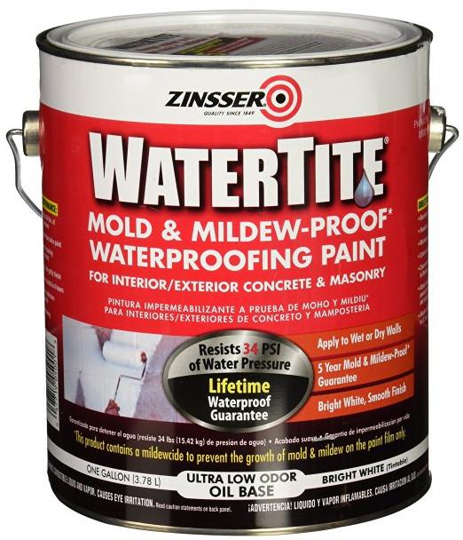 WaterTite Mold & Mildew-Proof Waterproofing Paint from Rust-Oleum