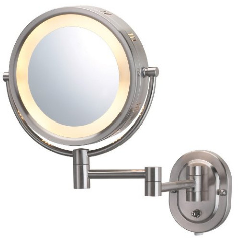 Lighted Wall Mounted Mirror from Jerdon