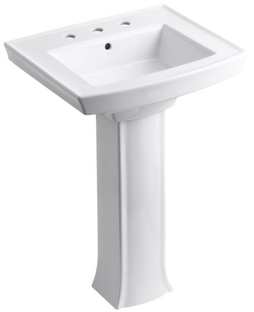 Archer Pedestal Bathroom Sink from Kohler