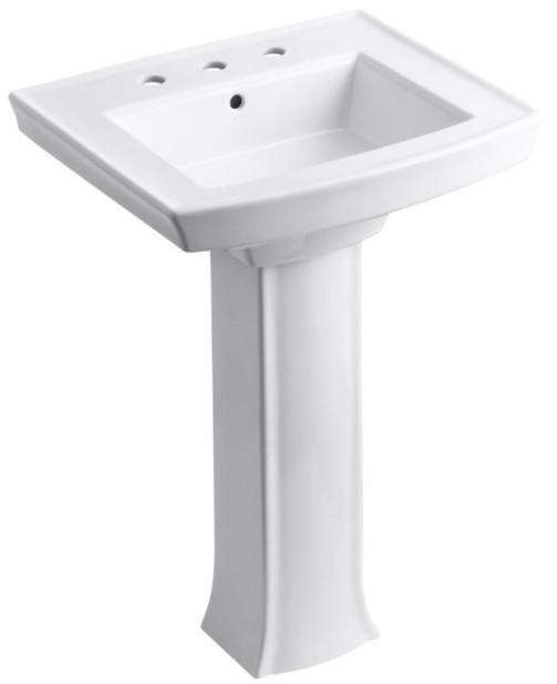 Archer Pedestal Bathroom Sink from Kohler