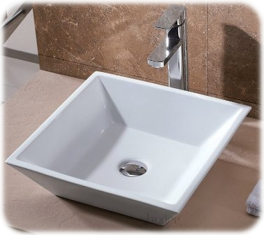 Art Basin Ceramic Vessel Sink from Luxier
