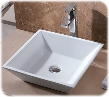 Art Basin Ceramic Vessel Sink from Luxier