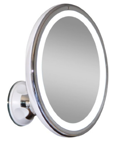 7x Magnifying Lighted Makeup Mirror from Upper West Collection