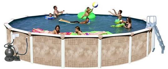 Deluxe Pool Package from Splash Pools