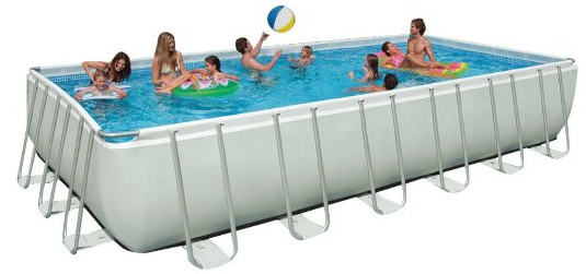 Ultra Frame Pool Set with Sand Filter Pump from Intex